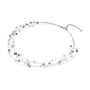 Perlový náhrdelník so Swarowského krištáľmi Nova Pearls Copenhagen Antoine