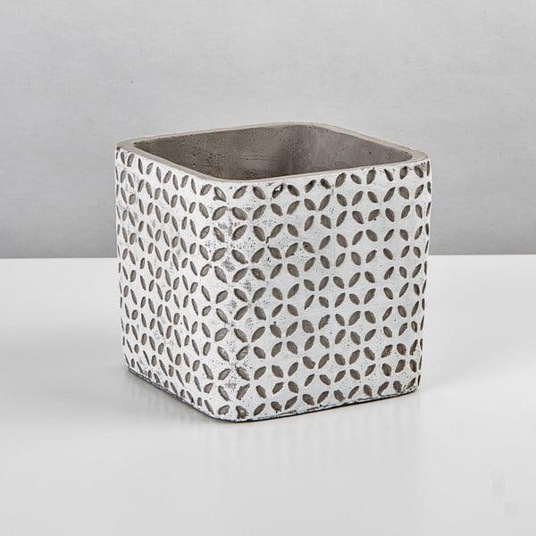 Črepník Beton, 11x11 cm