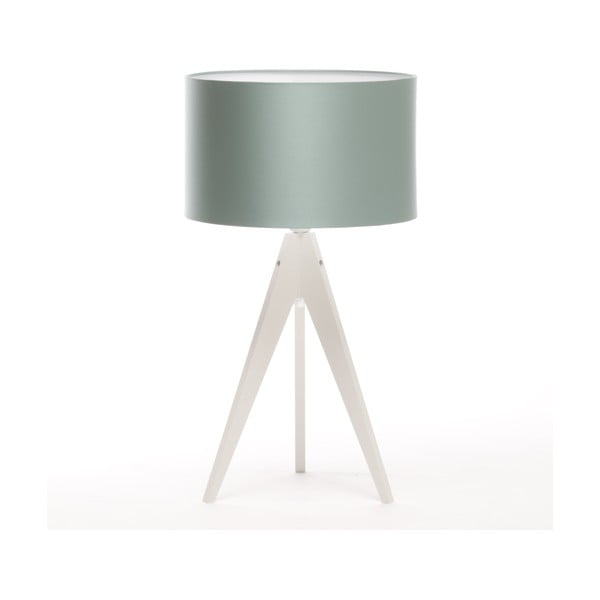 Stolná lampa Artist Light Green Blue/White, 65 cm