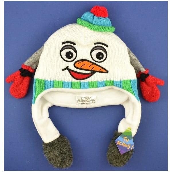 Detská čapica Snowman
