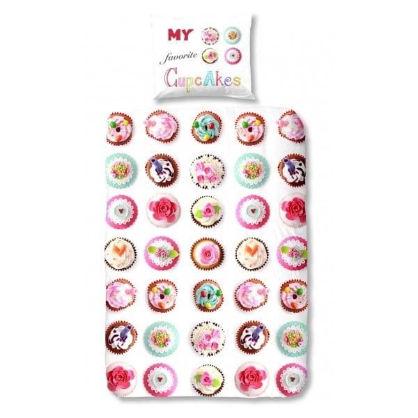 Obliečky Cupcakes, 140x200 cm