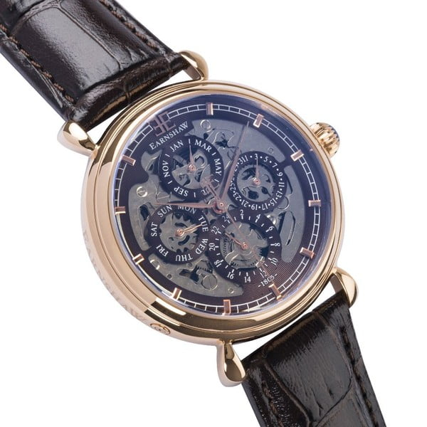 Pánske hodinky Thomas Earnshaw Grand Brown