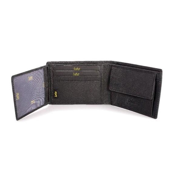 Kožená peňaženka Lois Brownie, 11x8 cm