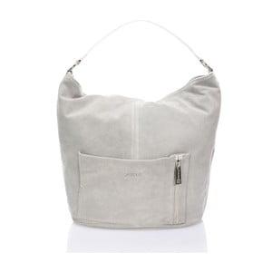 Sivá kožená kabelka Krole Kim