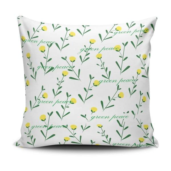 Vankúš s prímesou bavlny Cushion Love Hurito, 45 × 45 cm