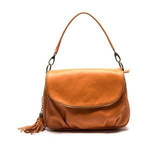 Hnedá kožená kabelka Sofia Cardoni Cristina