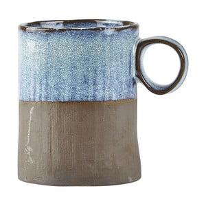 Modrý kameninový hrnček Galzone Made