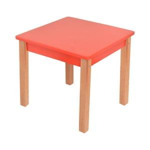 Červený detský stolík Mobi furniture Mario