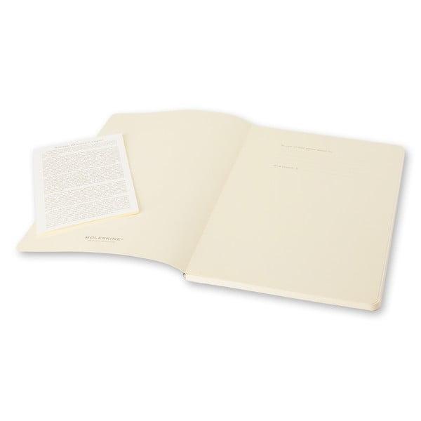 Sada 2 ks fialových zápisníkov Moleskine Volant, nelinajkový