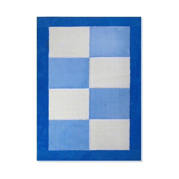 Detský koberec Mavis Blue Squares, 120x180 cm