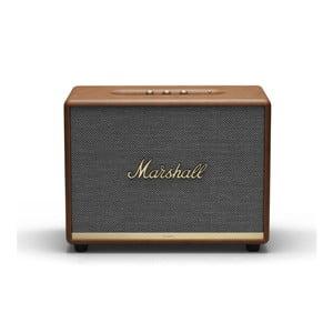 Hnedý reproduktor s Bluetooth pripojením Marshall Woburn II
