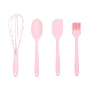 Sada 4 ružových kuchynských pomôcok Tantitoni Bake It