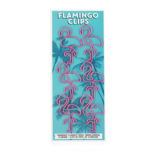 Sada 6 kancelárských spôn npw™ Flamingo Papier Clips