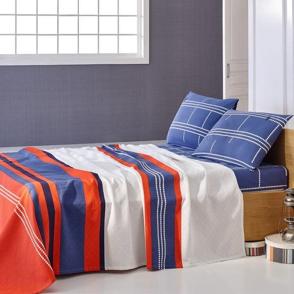Sada prikrývky cez posteľ a prestieradla U.S. Polo Assn. Paterson, 160x220 cm