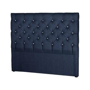 Tmavomodré čelo postele Stella Cadente Maison Pegaz, 160 × 118 cm