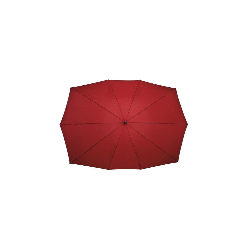 Červený golfový dáždnik pre dve osoby Falconetti, dĺžka 150 cm
