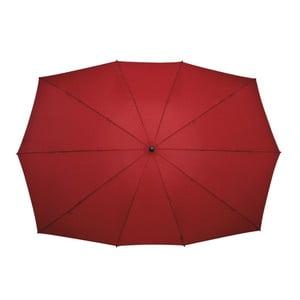 Obdĺžnikový dáždnik pre dvoch Falcone Red
