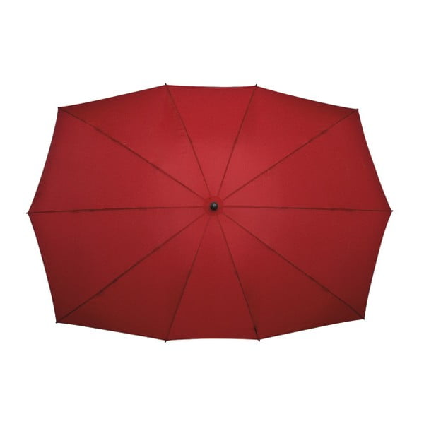 Obdĺžnikový dáždnik pre dvoch Ambiance Falcone Red