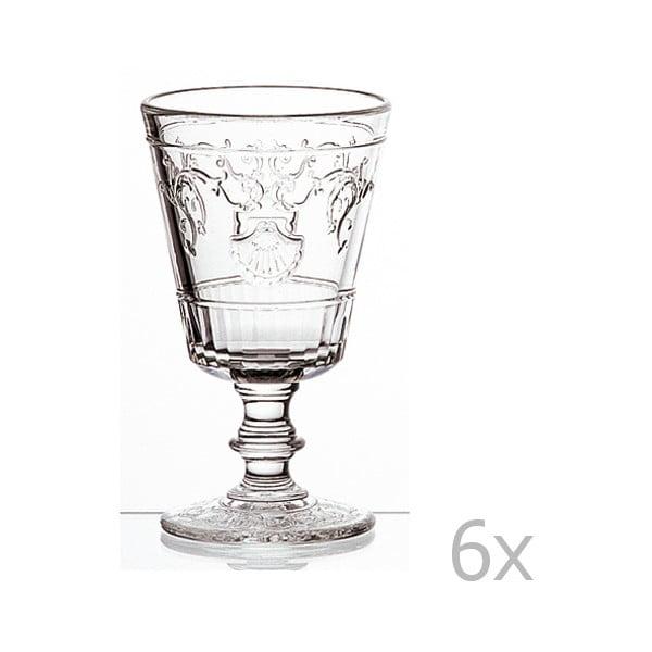 Sada 6 pohárov na víno Versailles, 200 ml