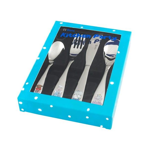 Príbor z nehrdzavejúcej ocele Kitchen Party Blue