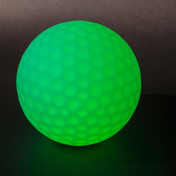 Zahradné náladové svetlo Golfball, 25 cm