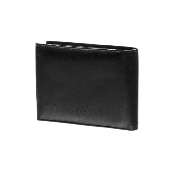 Kožená peňaženka Continuum 1526, jednoduché prešívanie