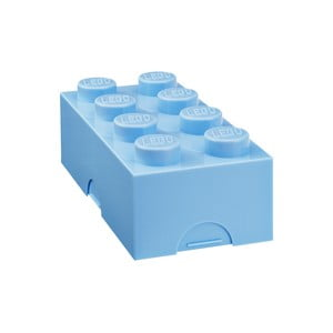 Box na desiatu LEGO®, svetlomodrý