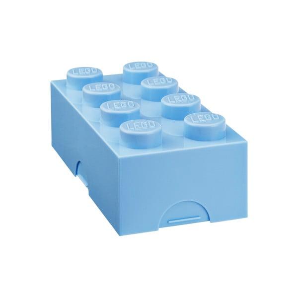 Svetlomodrý desiatový box LEGO®