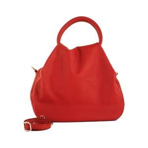Červená kabelka z pravej kože Andrea Cardone Dolcezza