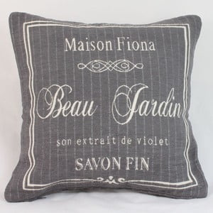 Obliečka na vankúš Maison Fiona  40x40 cm, tmavá
