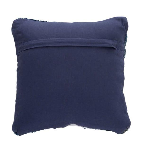 Vankúš Chindi, 45x45 cm, modrý