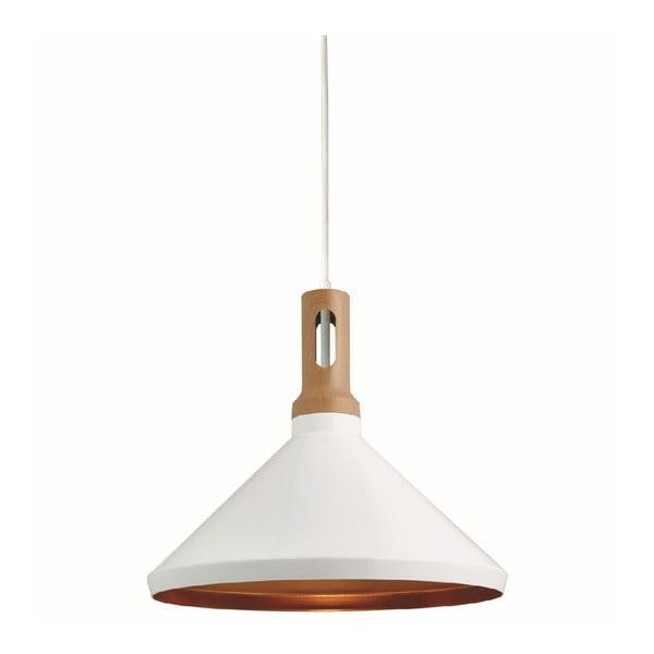 Stropné svetlo Cone White/Wood