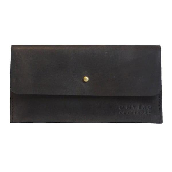 Kožená peňaženka Pixies Pouch, tmavohnedá