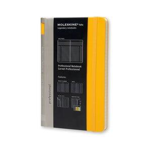 Zápisník Moleskine Folio, žltý