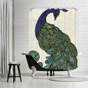 Kúpeľňový záves Ostrich, 180x180 cm