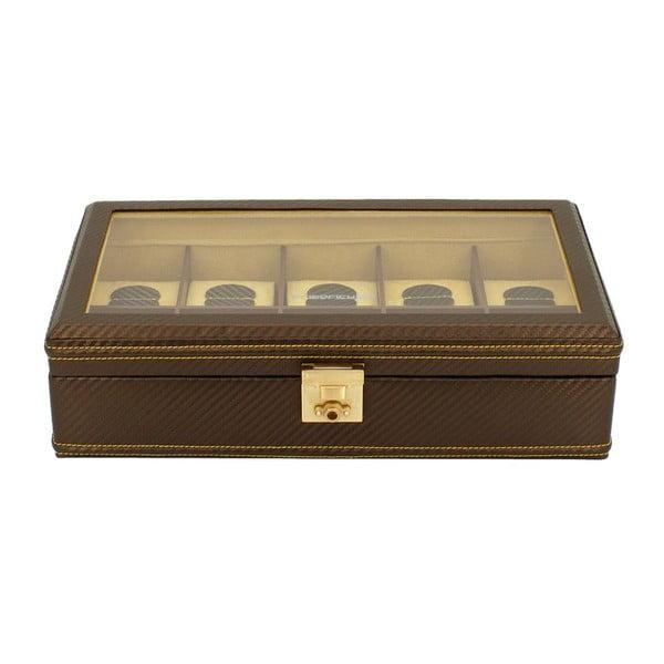 Krabička na hodinky Carbon 10 Brown