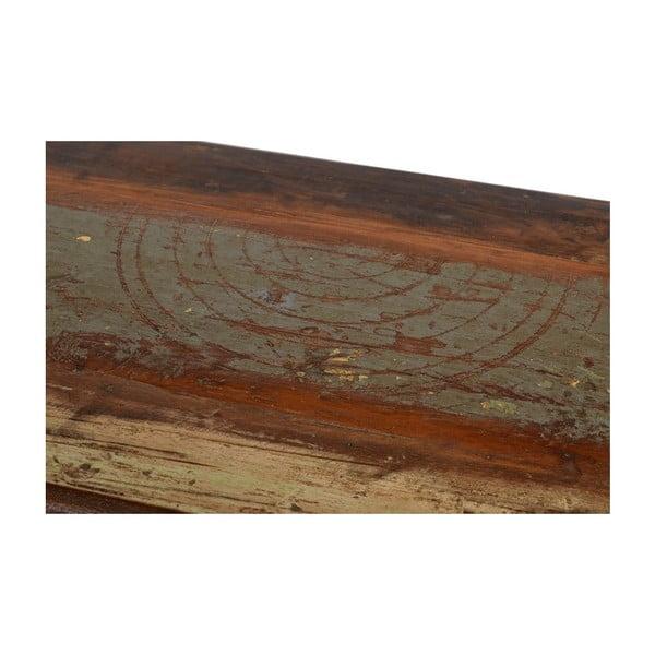 Stolík so zásuvkami Goa, 46x153 cm
