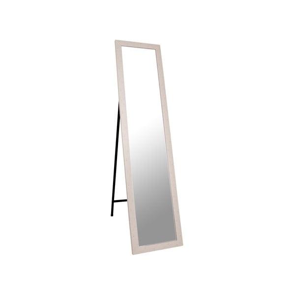 Stojacie zrkadlo Standing 37x158 cm, béžový rám
