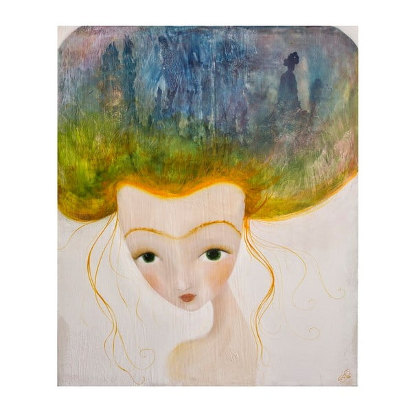 Autorský plagát od Lény Brauner Ryšavá, 60x51 cm