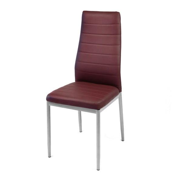 Jedálenská stolička Queen, bordó