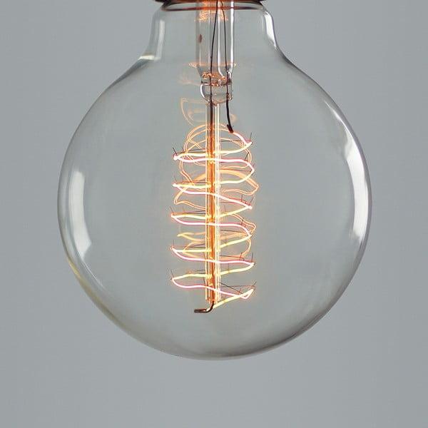 Žiarovka  Globe Spiral Edison E27 40W