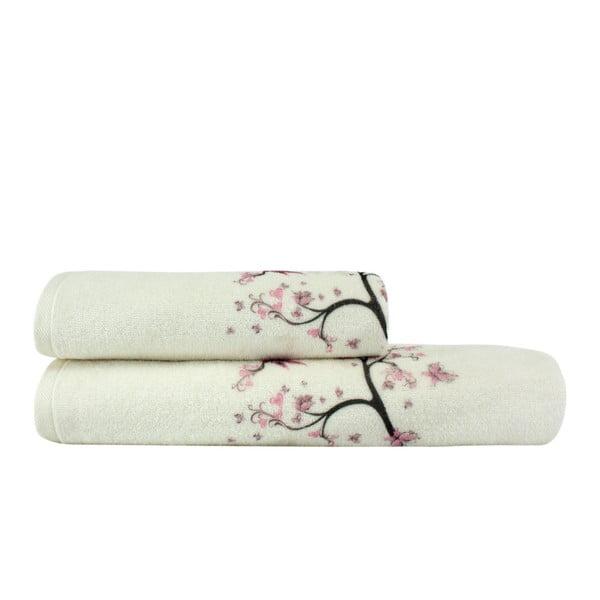 Sada 2 uterákov a osušky Bahar