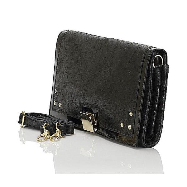 Kožená kabelka Giorgio Costa 15023 Black
