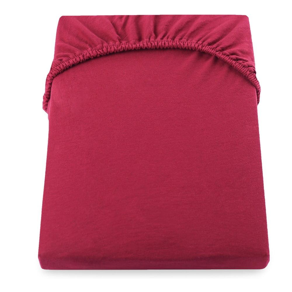 Červená plachta DecoKing Amber Collection, 140-160 × 200 cm