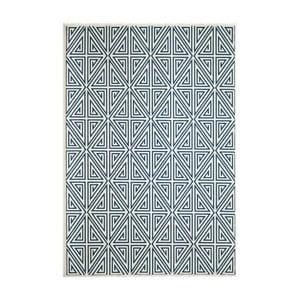Modrý koberec Nourison Baja Rallo 290×201cm