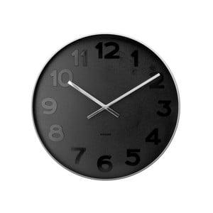 Čierne hodiny Present Time Mr. Black