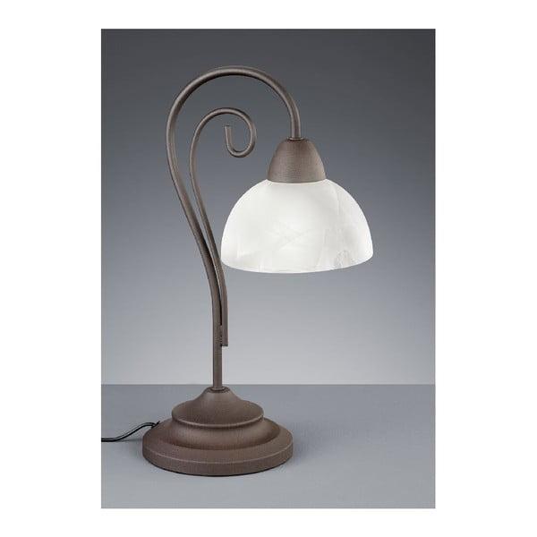 Stolová lampa Country, biela