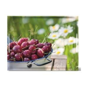 Podnos Classic Cherries, 50x37 cm