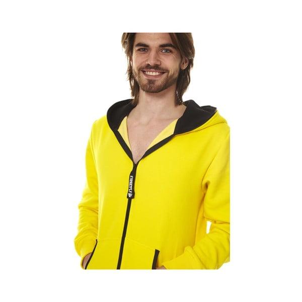 Žltý domáci unisex overal Streetfly, veľ. S