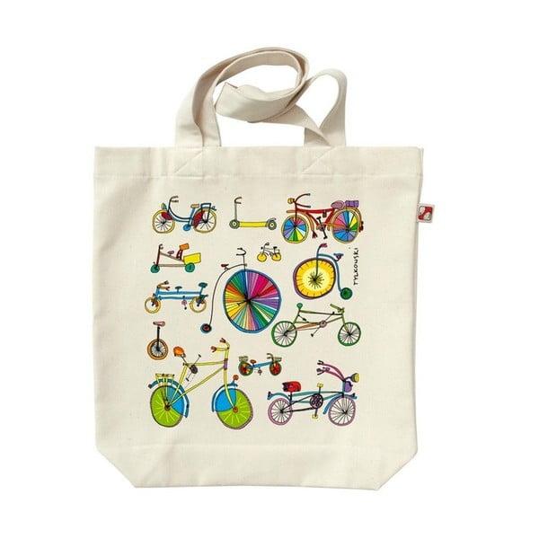 Plátenná taška Bicykel